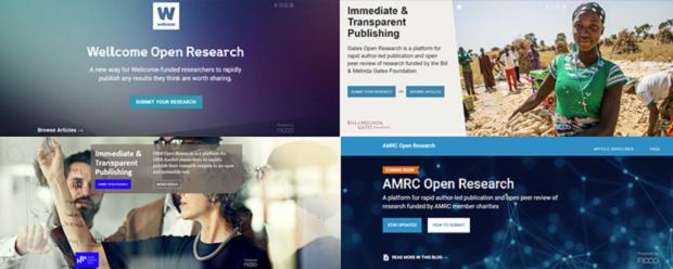 Current funder-based publishing platforms